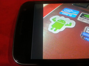 Schermo Galaxy Nexus rovinato