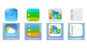 iOS 7 nuove icone